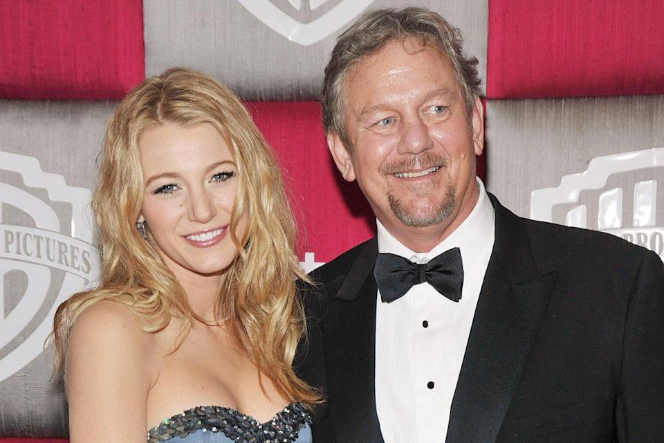 Ernie Lively father Blake Lively's, passes away at age 74.