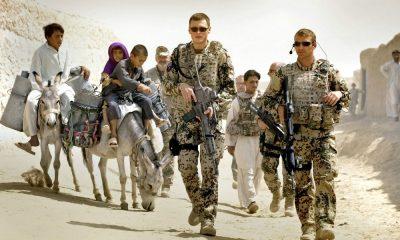German troops are leaving Afghanistan, after 20 years