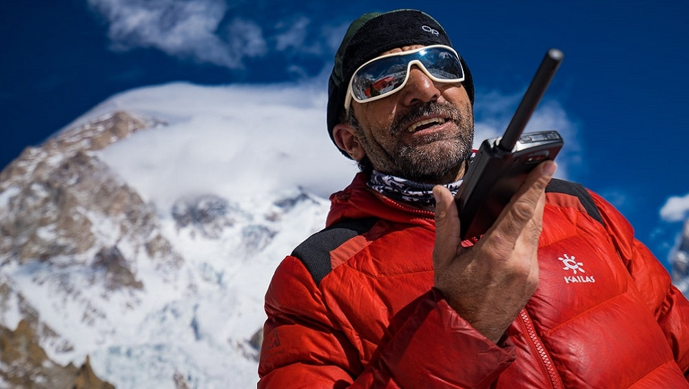 Sajid Sadpara starts searching for his father and missing hikers