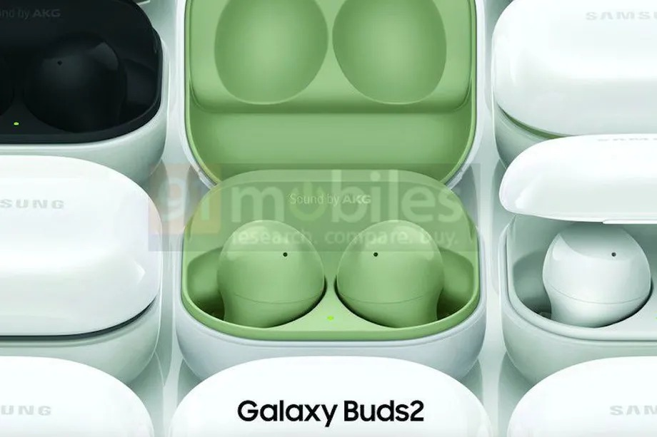 Samsung Galaxy Buds 2 leaked renderings display four color options