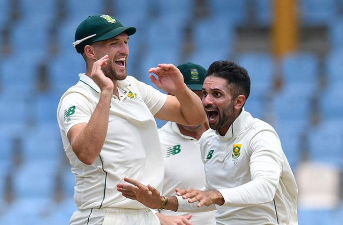 South Africa wins Test series in West Indies thanks to a hat-trick from Maharaj