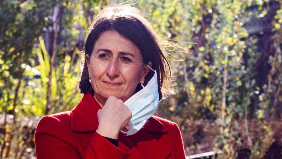 State Premier Gladys Berejiklian said a two-week lockdown was necessary - Getty Images