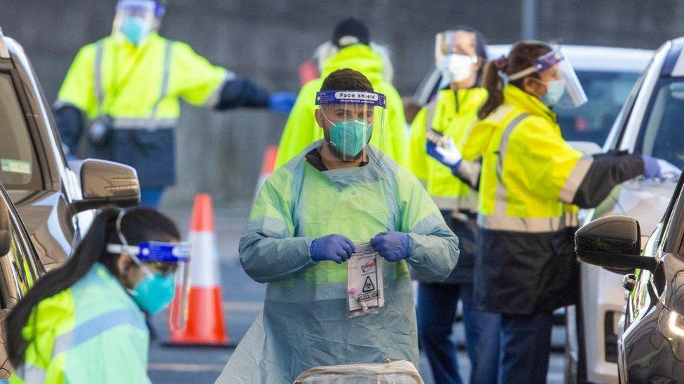 As the Delta outbreak spreads, Australia extends the lockdown in Sydney