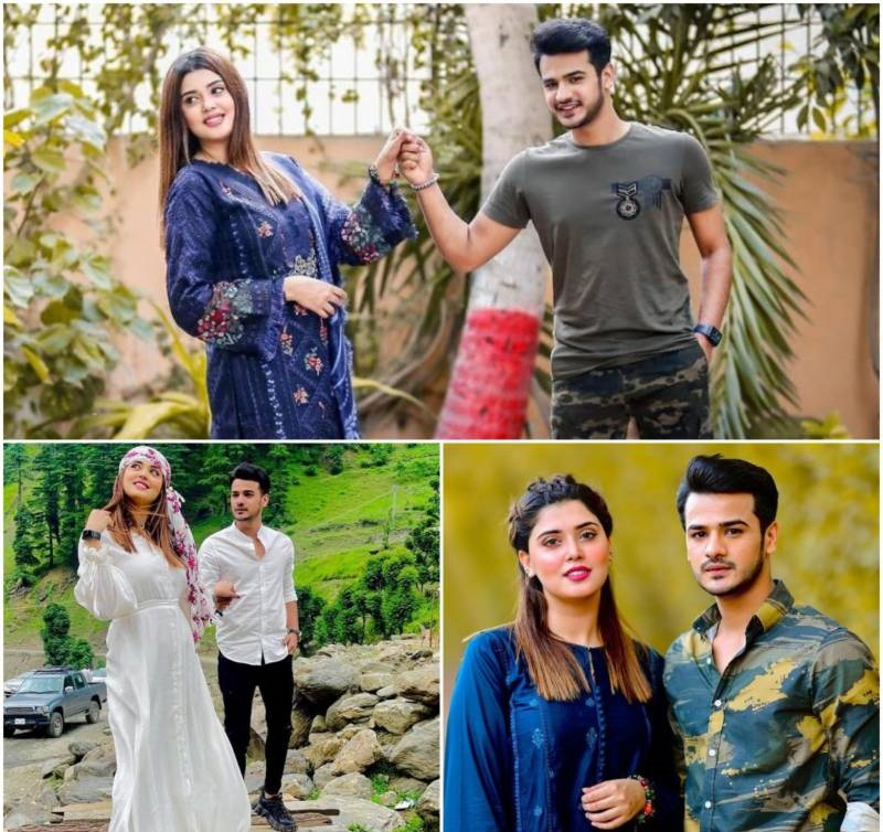 Kanwal Aftab stuns withher hubby in fresh photos
