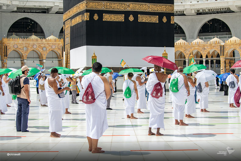 20 people were fined 10,000 Riyals each for violating Hajj rules