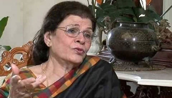 Sultana Zafar, a famous actress, has died.