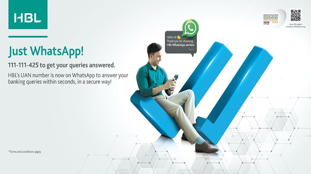 HBL introduces WhatsApp Support Services by E Ocean