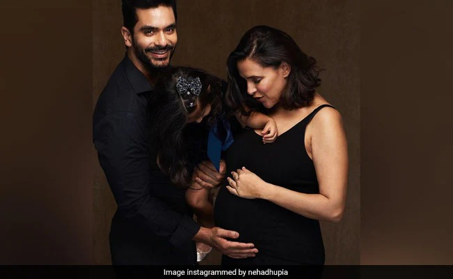 Neha Dhupia and Angad Bedi are expecting their second child.
