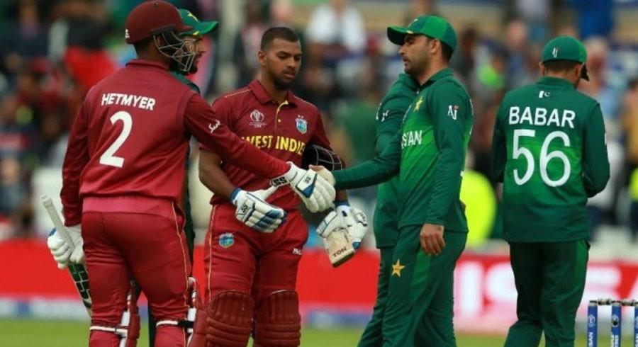 Pakistan against West Indies T20I series