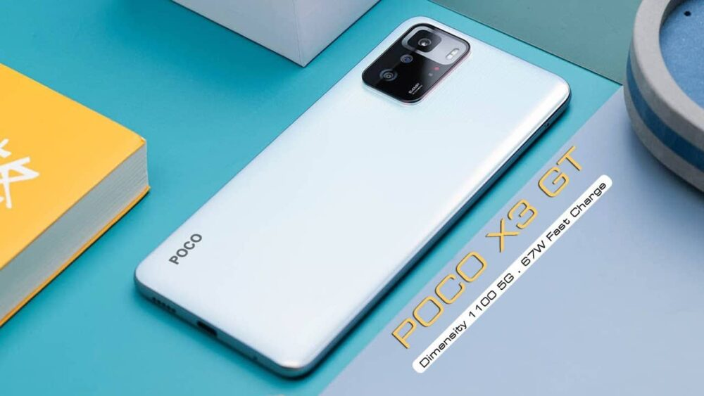 The Poco X3 GT will be out on July 28th.