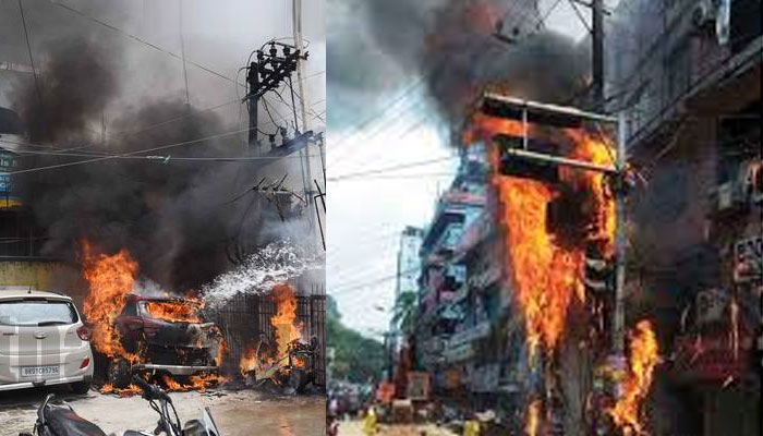 Transformer Explosion in Hyderabad leave 5 dead and 18 injured