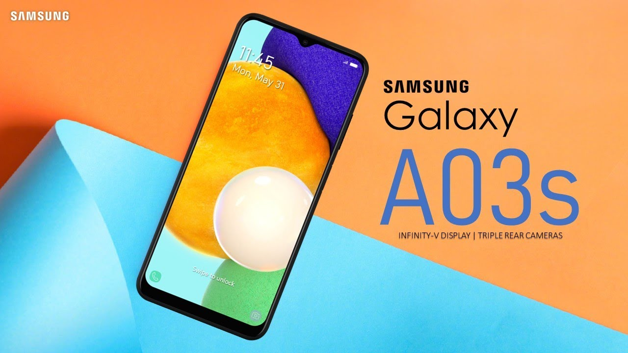 The Samsung Galaxy A03s will be release soon