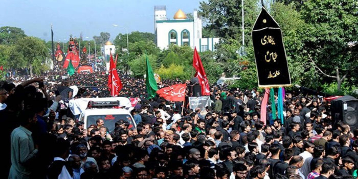 9th Muharram is held nationwide to remember Karbala