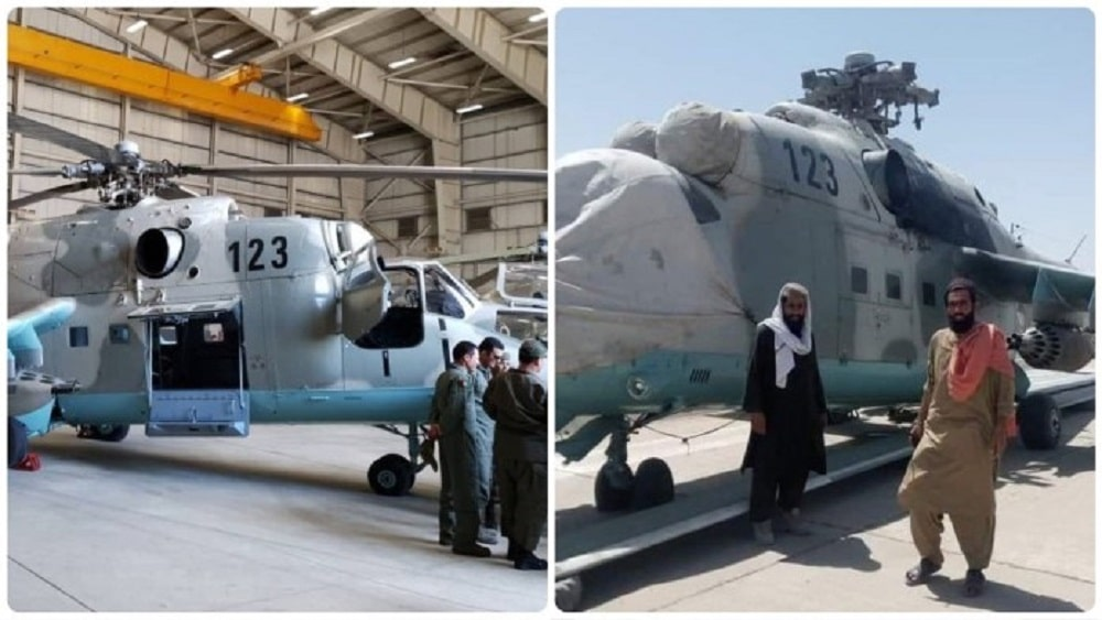 Afghanistan's Taliban seize Kunduz Airbase andIndian helicopter