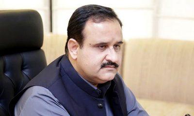 Chief Minister (CM) Sardar Usman Buzdar