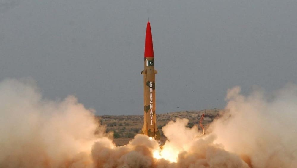 Pakistan Army Tests Nuclear-Capable Ghaznavi Missile