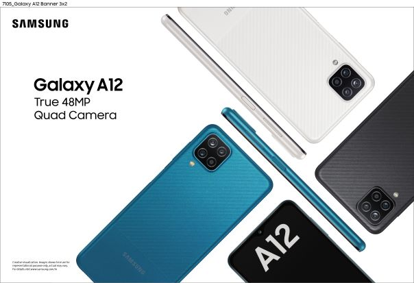 Samsung Relaunches Galaxy A12 With Upgraded Chipset