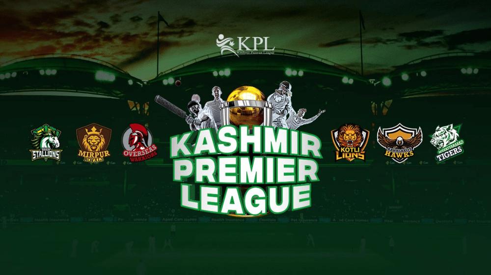 The Kashmir Premier League's Complete Schedule