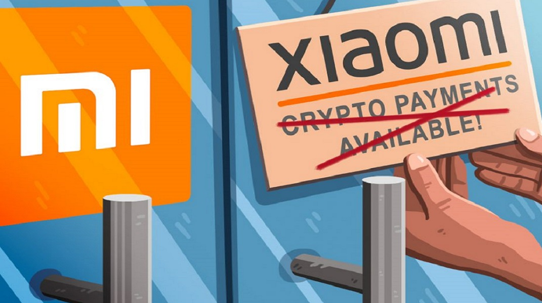 Xiaomi has refused to accept crypto in Portugal.