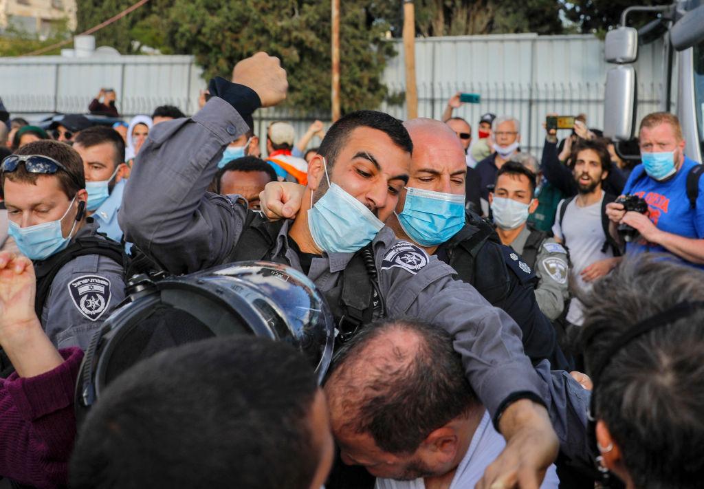 1 Palestinian was killed by Israeli fire,over 3dozen were injured