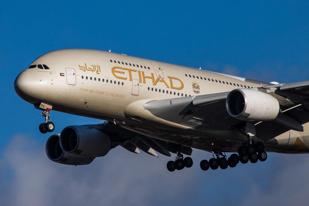 Etihad Airlines Airbus A380