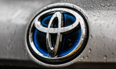 Toyota lowers global manufacturing by 40%.