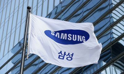 A Samsung flag flies outside the company's headquarters on January 12, 2017 in Seoul, South Korea. Photo by Chung Sung-Jun via Getty Images