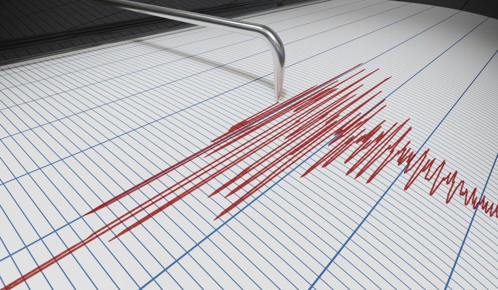 Hasaki, Japan, is shaken by an Earthquake