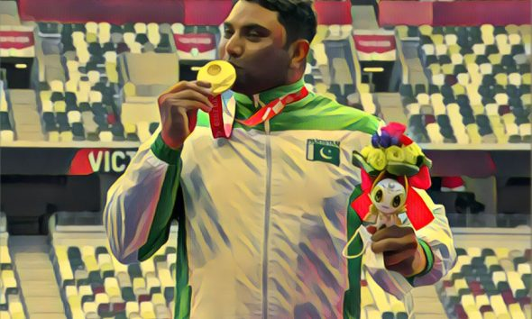 PM Imran Khan congratulated Haider Ali on his gold medal win in Tokyo Paralympic Games 2020