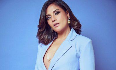 Richa Chadha looks absolutely wonderful in blue