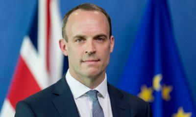 UK Foreign Secretary Dominic Raab