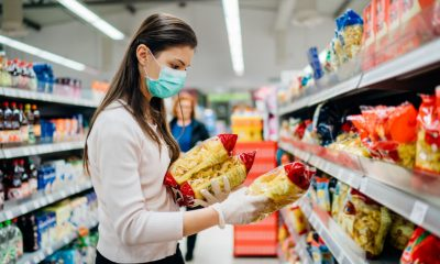 buyer-wearing-mask-at-shopping-in-food-market