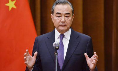 China Foreign Minister Wang Yi