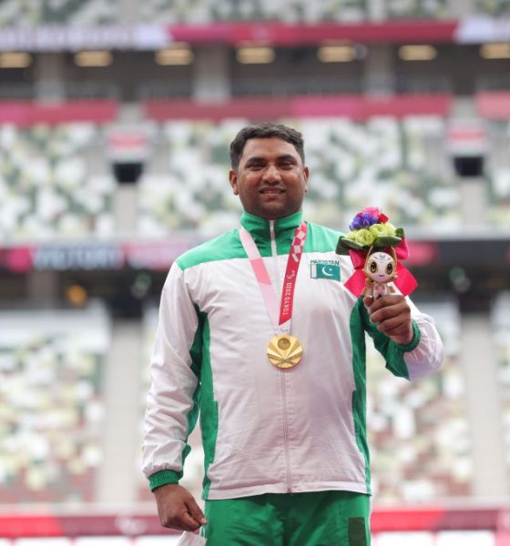 Haider Ali wins Paralympic gold for Pakistan
